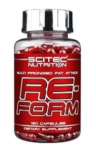 Reform - Bruleur de graisse -120-gélules Scitec Nutrition
