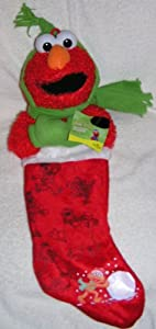 "Sesame Street Plush Elmo 21"" Christmas Stocking"