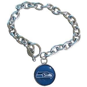NFL Seattle Seahawks Charm Bracelet