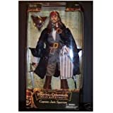 "Captain Jack Sparrow 12"" Inch Figure Pirates of the Caribbean"