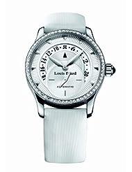 Louis Erard Women's 92600SE01.BDV12 Emotion Automatic White Diamond Date Watch
