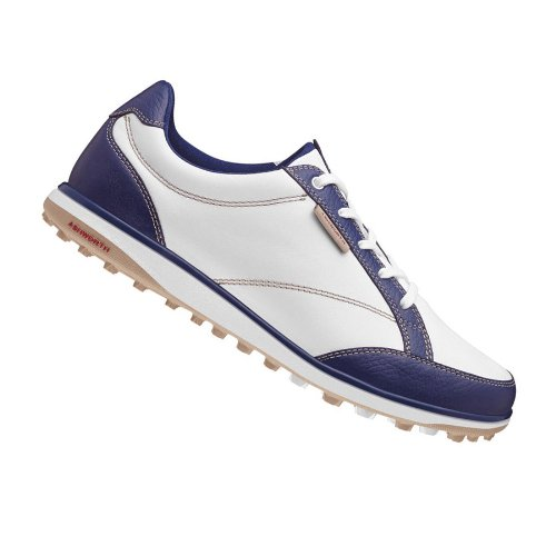 AshworthAshworth 2014 Lady Cardiff ADC Golf Shoes (PEA0257) New Navy-Khaki-Bordeaux 11 Medium G54302
