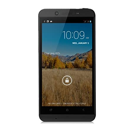 CUBOT ONE - Android 4.2 HD 4,7 pouces IPS écran Quad Core Smartphone Dual Camera RAM 1 GB & ROM 8GB GPS 12MP - Noir