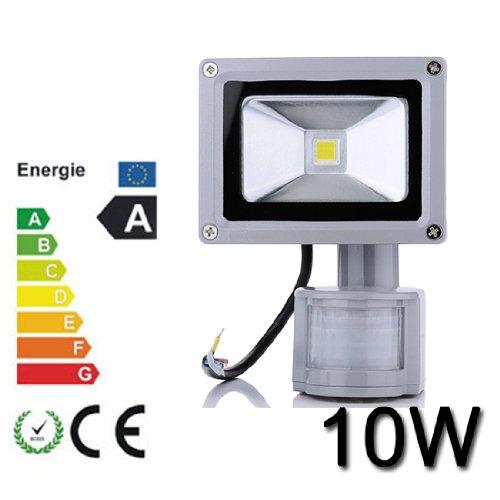 HimanJie-LED-Fluter-Spot-Auenstrahler-Flutlich-Strahler-Bewegungsmelder-ausser-Scheinwerfer-Auenwandleuchte-wasserdicht-IP65-kaltwei10W