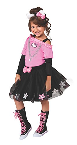 Hello Kitty Rockstar Costume, Child Small