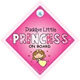 Daddys Little Princess Car Sign Baby on Board Sign Daddys little princess on board car sign Daddys Princess Baby on board Baby Car Sign Car Signs Bumper Sticker Princess Car Sign Princess On Board Sign Baby Sign Baby Car Sign