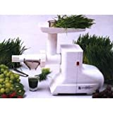 Miracle Electric Wheatgrass Juicer - The MJ 550 Miracle wheatgrass juicer i ....