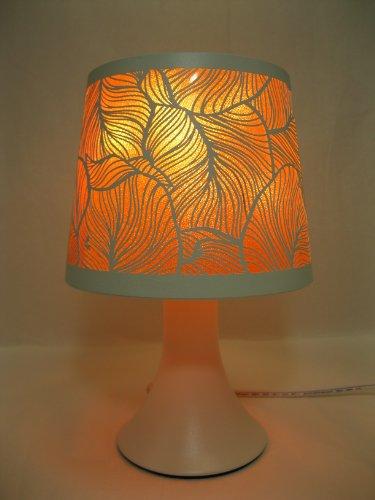 Variation Color Design Decorative Electric Fragrance Lamp Aromatherapy Oil Warmer/Burner Night Light In Gift Box # Mt-001 (Orange)