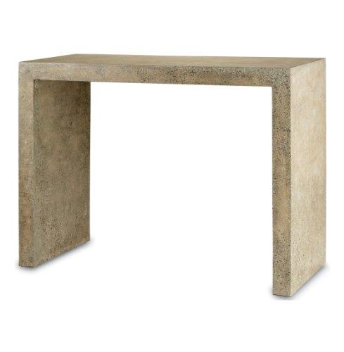Cheap Harrison Beige Polished Concrete Industrial Rustic Console Table (B007QQG44M)