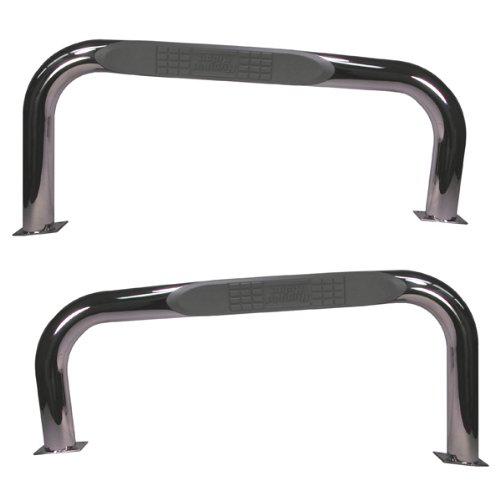 Rugged Ridge 11522.03 Stainless Nerf Bar (Jeep Cj Nerf Bars compare prices)