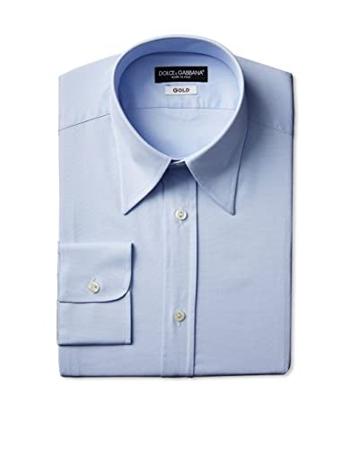 Dolce & Gabbana Men's Solid Dress Shirt
