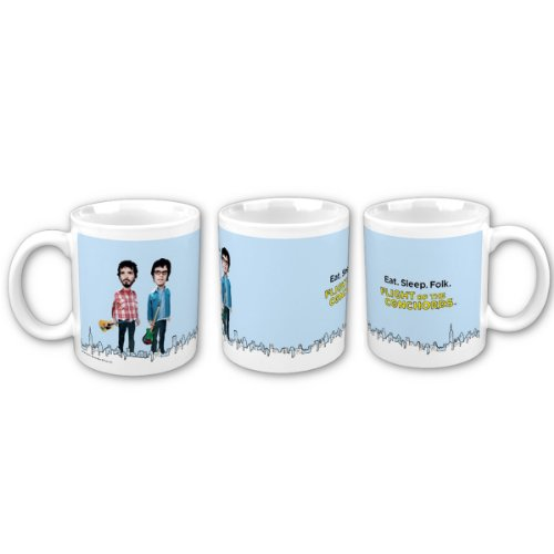 Flight of the Conchords Skyline Mug (Popcorn Mug compare prices)