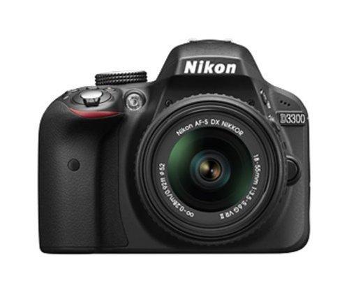 Nikon-D3300-Digital-SLR-Camera-Black-with-AF-S-DX-18-55mm-VR-II-and-AF-S-DX-55-200mm-VR-II-Double-Zoom-Kit-with-8GB-Card-Camera-Bag