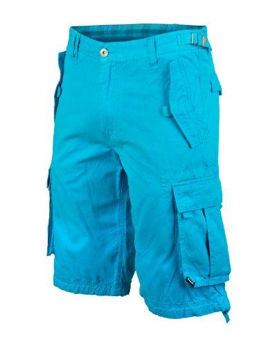 Bench, Pantaloni corti Uomo Larklane, Blu (BL039), W42 (Tallia Produttore: 42)