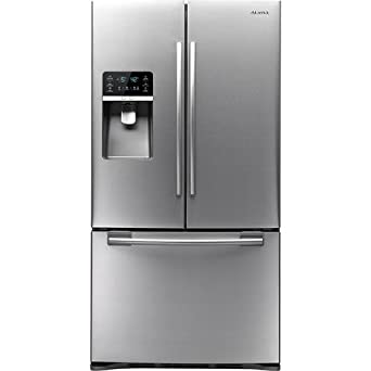 Samsung RFG297HD 29 Cubic Foot French Door Energy Star Refrigerator with Cool Select Pantry, Exte, Real Stainless