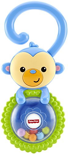 Fisher-Price Rattle, Monkey - 1