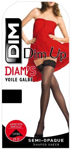 Dim - Up Diam s - Bas - Femme - Noir - 1 ~ Bas pour porte-jarretelle c94bb38b56e