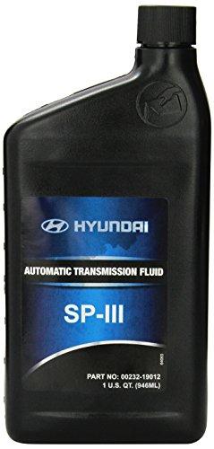 Genuine Hyundai Fluid 00232-19012 SP III Automatic Transmission Fluid - 1 Quart (Hyundai Sonata Transmission compare prices)