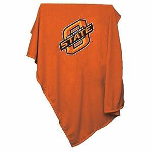 Oklahoma State Cowboys NCAA Sweatshirt Blanket Throw by Oklahoma State Cowboys NCAA Sweatshirt Blanket Throw