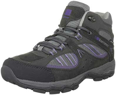 Karrimor Womens Snowdonia Mid Weathertite Trekking and Hiking Boots K484-FPD Fog/Purple Dawn 4 UK, 37 EU, 5 US