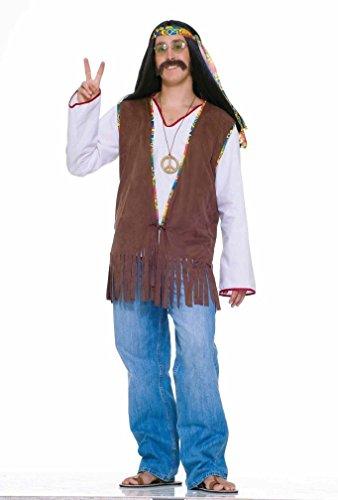 Popca (Faux Suede Hippie Vest Adult Costumes)