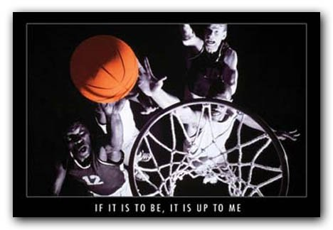 Its Up Me Motivational Basketball