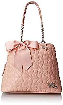 Hello Kitty HK Quilted Double Chain Handle Dome Shoulder Bag from Hello Kitty