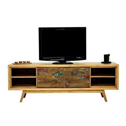 Mobile TV scandinavo 180 cm Wood