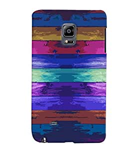Samsung Galaxy NOTE EDGE MULTICOLOR PRINTED BACK COVER FROM GADGET LOOKS