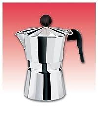 Aluminum Stovetop Espresso Maker Capacity: 9 Cup