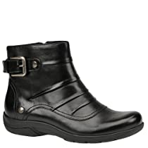Hot Sale Clarks Women's Christine Club Boot,Black Leather,9 M US