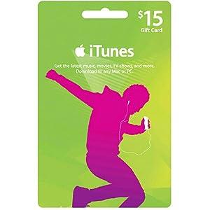 $15 itunes gift card code  アップル iTunes カード北米版 $15