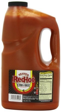 Frank's RedHot Xtra Hot Sauce: 1 Gallon (3.78 L) (Gallon Red Hot Sauce compare prices)