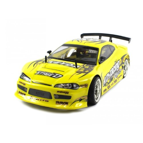 Electric Full Function 1:10 CT Speed Racing Nissan Silvia S15 10+MPH RTR RC Car (Colors May Vary)