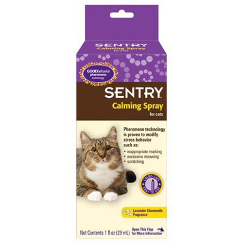SENTRY GOOD behavior Calming Spray for Cats, 1 oz (Sentry Spray compare prices)