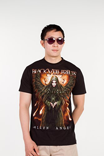[Black Veil Brides (Fallen Angels) 1211 Size XL Extra Large New! T-shirt] (Black Veil Brides Fallen Angel Costume)