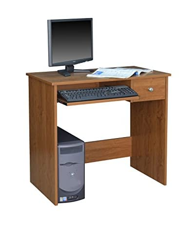 Niche Desk With Pencil Drawer, Warm Cherry