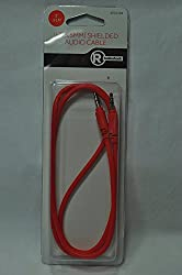 Red Audio Cable