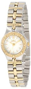 Invicta Womens 0136 Wildflower Collection 18k Gold-Plated