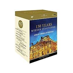 150 Years Weiner Staatsoper: Great Opera Evenings region NTSC