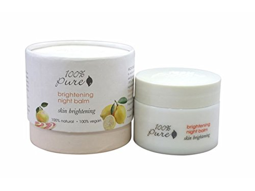 100% Pure: Brightening Night Balm, 1.2 oz. (100 Pure Lemon Juice compare prices)