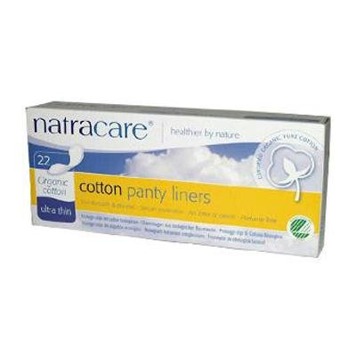 Natracare Organic Cotton Panty Liners Ultra Thin -- 22 Pads