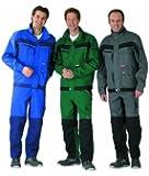 Plaline Arbeitskleidung Bundjacke rot/schiefer