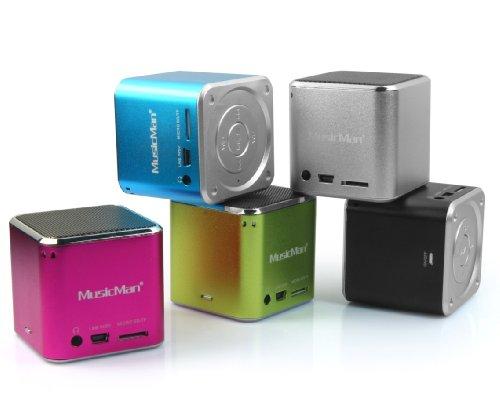 MusicMan Mini Wireless Soundstation BT-X2 - Lautsprecher - zur mobilen Nutzung riethmuller beitrage zur onkologie – genes
