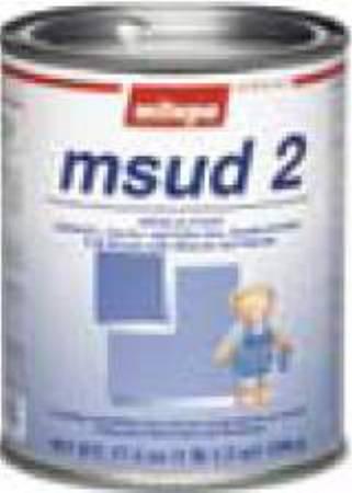 Nutricia N 93512600 Medical Food Powder Milupa Msud 2 Unflavored 500 Gm 659351 Box Of 2