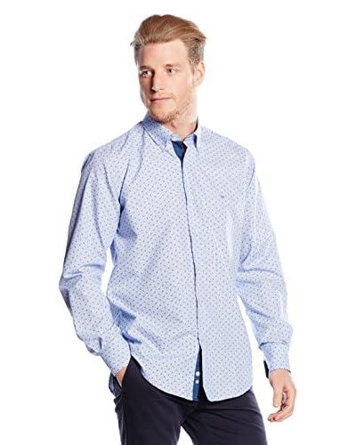 Milano Camisa Hombre Azul