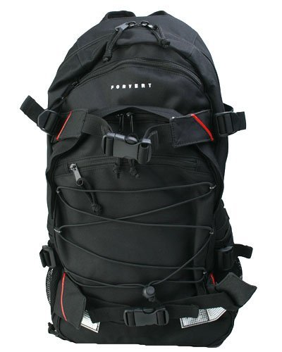 Forvert Louis Rucksack (ONE SIZE, black)