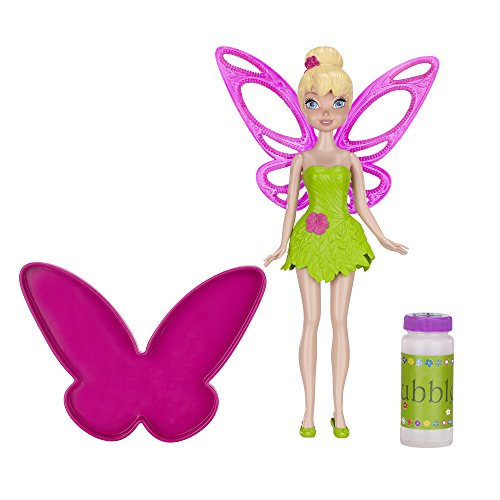 Disney Fairies Tink Bubble Fairy Doll, 9""