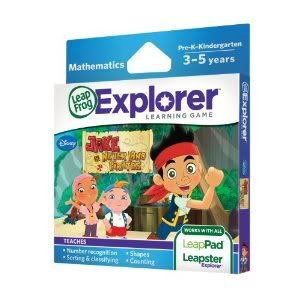 Toy / Game Leapfrog Explorer Disney Learning Game - Appropriate For Children Ages Three To Five Years front-1016535
