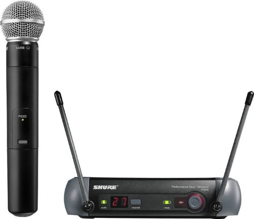 Shure Pgx24/Sm58 Handheld Wireless System, L5